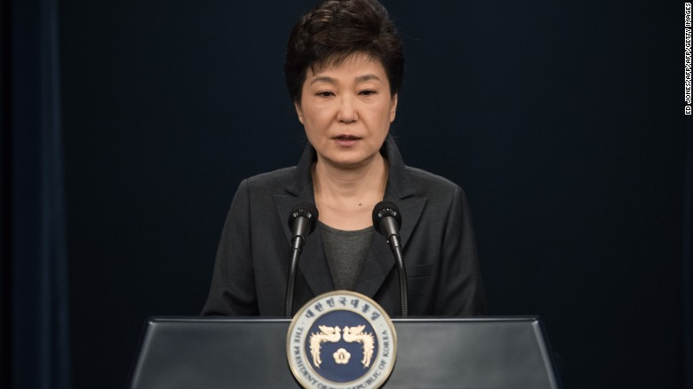 S. Korean protesters demand Park's resignation