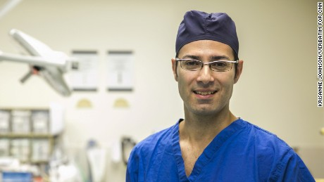 Dr. Joaquim Farinhas, neuroradiologist within the department of radiology.