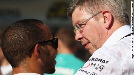Ross Brawn on the Mercedes driver rivalry
