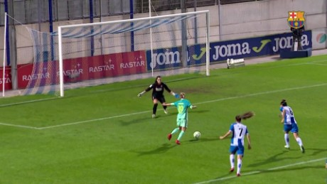 Is this the female Messi? Watch this wonder goal