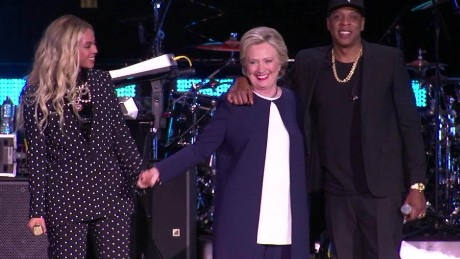 beyonce jay z hillary clinton bts cleveland ohio _00014814