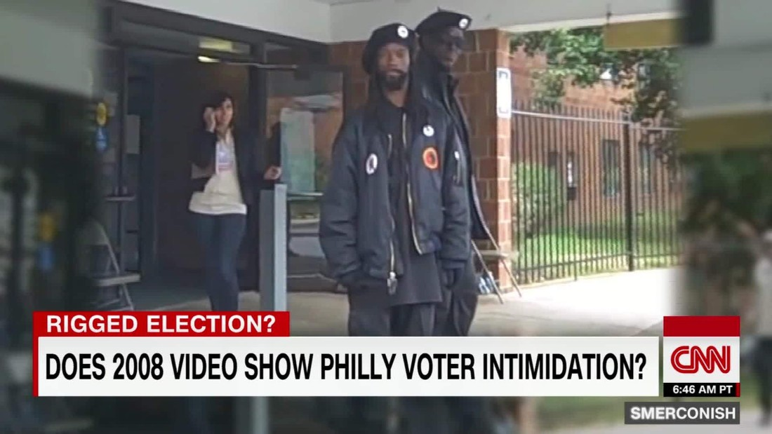 Was 2008 Black Panther incident voter intimidation? - CNN ... - photo#7