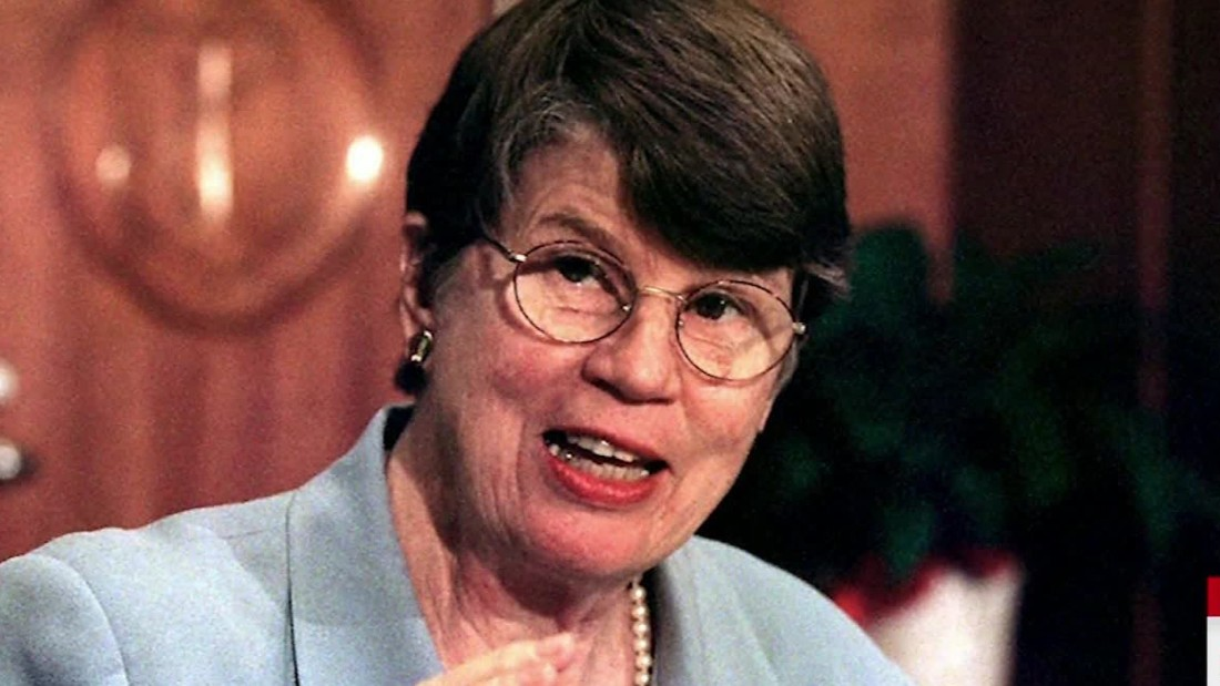 Janet Reno, first female US attorney general, dies at 78