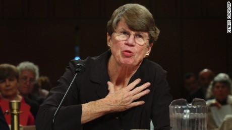 Janet Reno's career punctuated by highs, lows