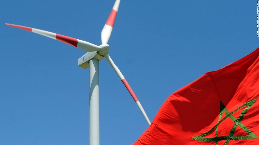 In 2010 a $300 million wind farm was inaugurated near Tangier (pictured). With 165 turbines and a production capacity of 140 megawatts, it has since been superseded by the Tarfaya wind farm -- also in Morocco and the largest in Africa -- which produces 850 megawatt hours.