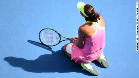 Madison Keys, not playing in Australia due to injury, is taking a stand against online abuse.