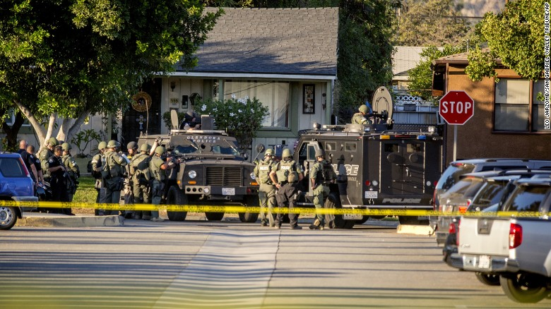 One dead in shooting near California polling station