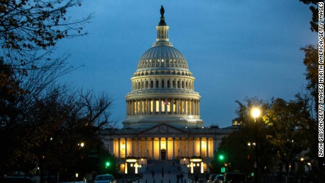 The Capitol Building is pictured on November 8, in Washington, DC.