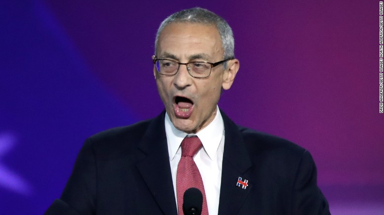 Podesta tweets at Trump, calls him 'whack job'