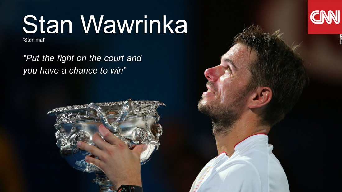 "Facing world No.1s in major finals, Wawrinka has never lost -- beating Rafa Nadal in Melbourne (2014), Djokovic at Roland Garros (2015) and the Serb once again at this year's US Open. A man for the big occasion, Wawrinka holds a 100% record against Djokovic in grand slam deciders, but has never otherwise beaten him (0-19). With the US Open title to his name, Wawrinka became the oldest Grand Slam champion (31) since Andre Agassi at the 2003 Australian Open. A remarkable run of winning 11 straight finals only came to an end when he suffered a shock loss in St Petersburg to Alexander Zverev -- citing him as the <a href=""http://edition.cnn.com/2016/09/25/tennis/tennis-wawrinka-zverev-wozniacki/"">""future of tennis.""</a> <br /><br />• Titles in 2016: <strong>4 -</strong> US Open, Geneva Open, Dubai Championships, Chennai Open <br />• Aces in 2016: <strong>436</strong><br />• Win percentage in 2016: <strong>74%</strong><br />"