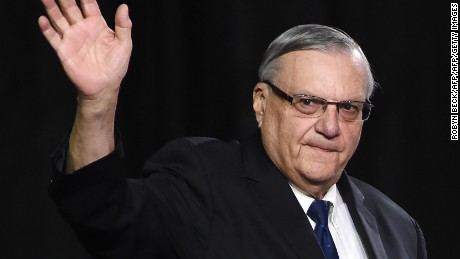 Former Arizona Sheriff Joe Arpaio found guilty of criminal contempt