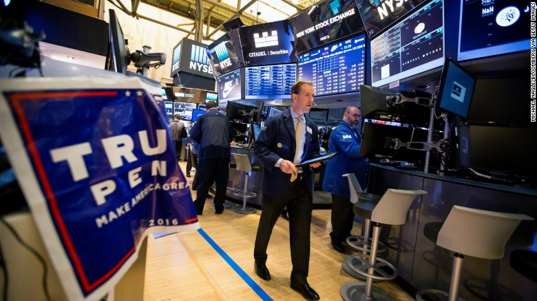 Wall Street doesn't fear President Trump