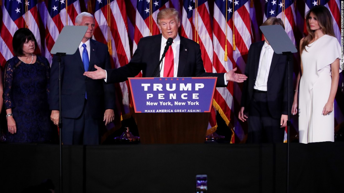 Top 5 promises Donald Trump's voters expect him to deliver on