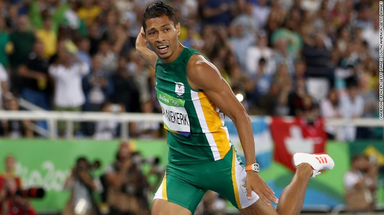 Wayde van Niekerk suffers serious knee injury in celebrity touch rugby game