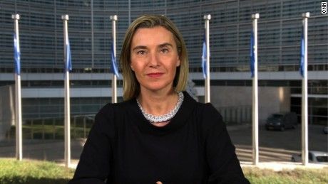 Mogherini: EU foreign policy 'not determined' by US