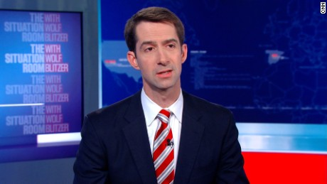 Sen. Tom Cotton: Trump ready to make tough decisions