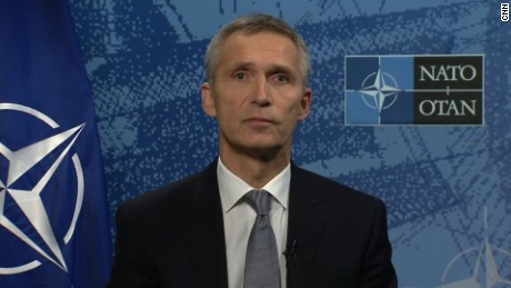 NATO chief will talk 'more assertive Russia' with Trump