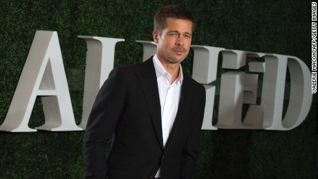"Brad Pitt  returns to the red carpet Wednesday for an event for his new film, ""Allied,"" in Los Angeles."