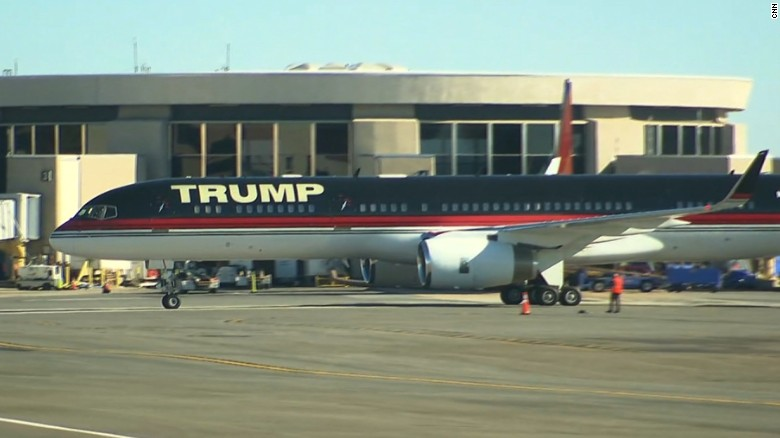 President-elect Trump arrives in DC