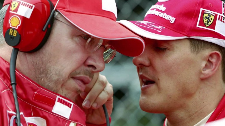 Great place in my heart: the Ferrari takes Schumacher under contract