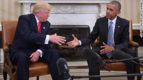 Why Trump and Obama are phone buddies