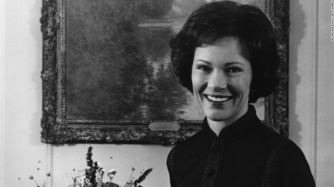 Rosalynn Carter was one of the most politically active of all American first ladies. Before becoming first lady she was responsible with bookkeeping for Jimmy Carter's family business. During her time as FLOTUS, Rosalynn attended Cabinet meetings and major briefings and even served as the President's personal emissary to Latin American countries.