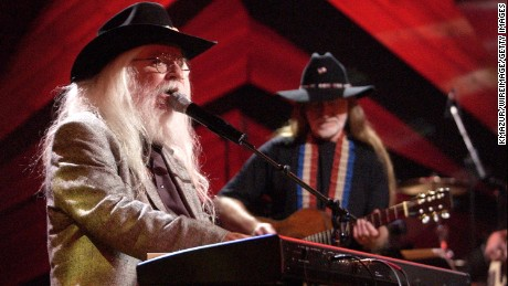 "Leon Russell and Willie Nelson during ""Willie Nelson and Friends: Live and Kickin'"" on USA Network 2003 in New York City."