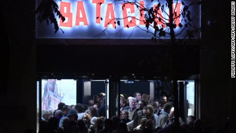 The Bataclan concert hall in Paris reopened a year after it was the scene of a terror attack.
