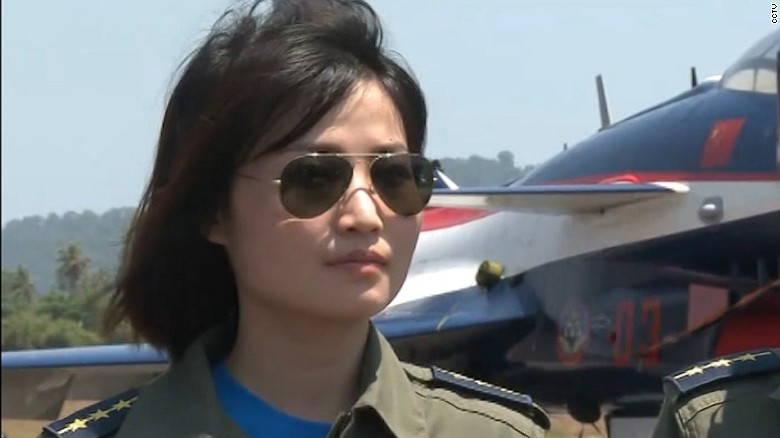 Remembering China's first female jet pilot