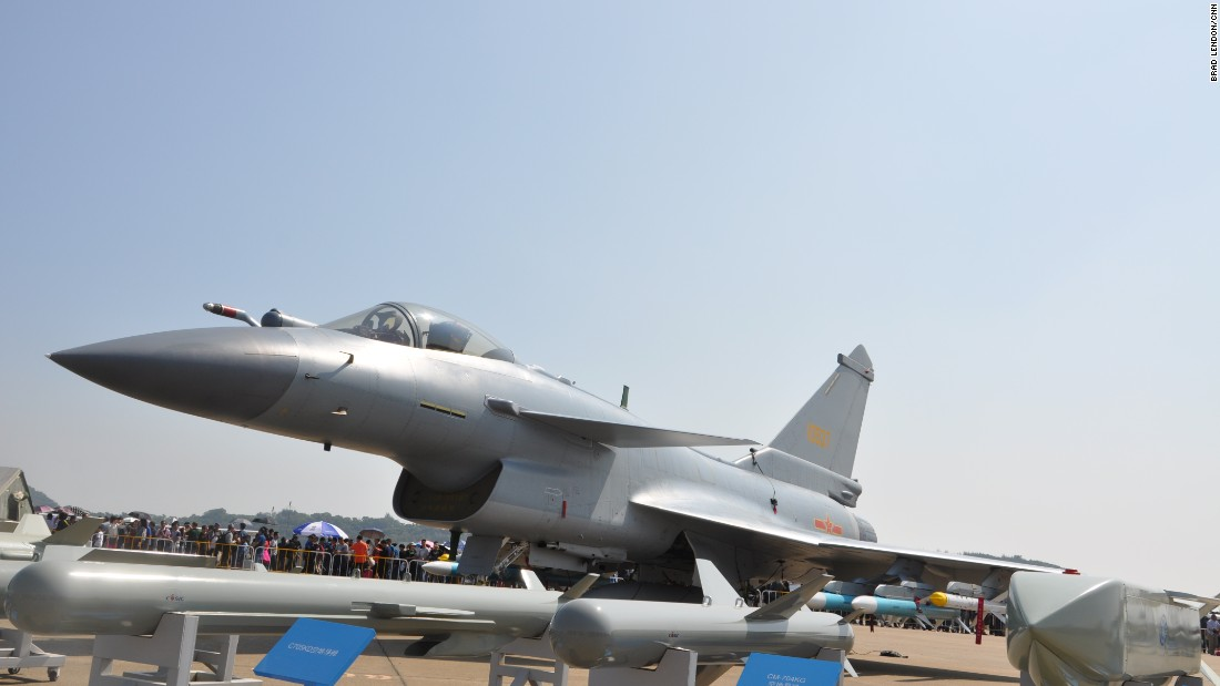J 17 Chinese fighter...