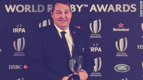 All Blacks dominate World Rugby Awards