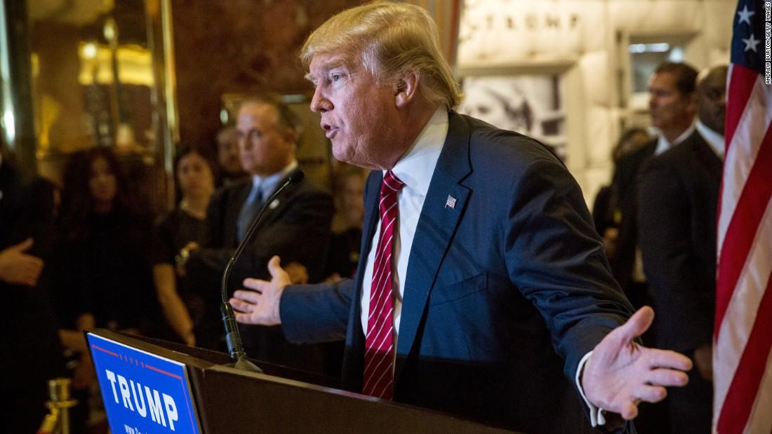 Donald Trump pledge: No lobbying for 5 years - CNNPolitics