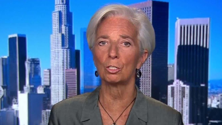 IMF chief Lagarde says trade risks set to spur more volatility