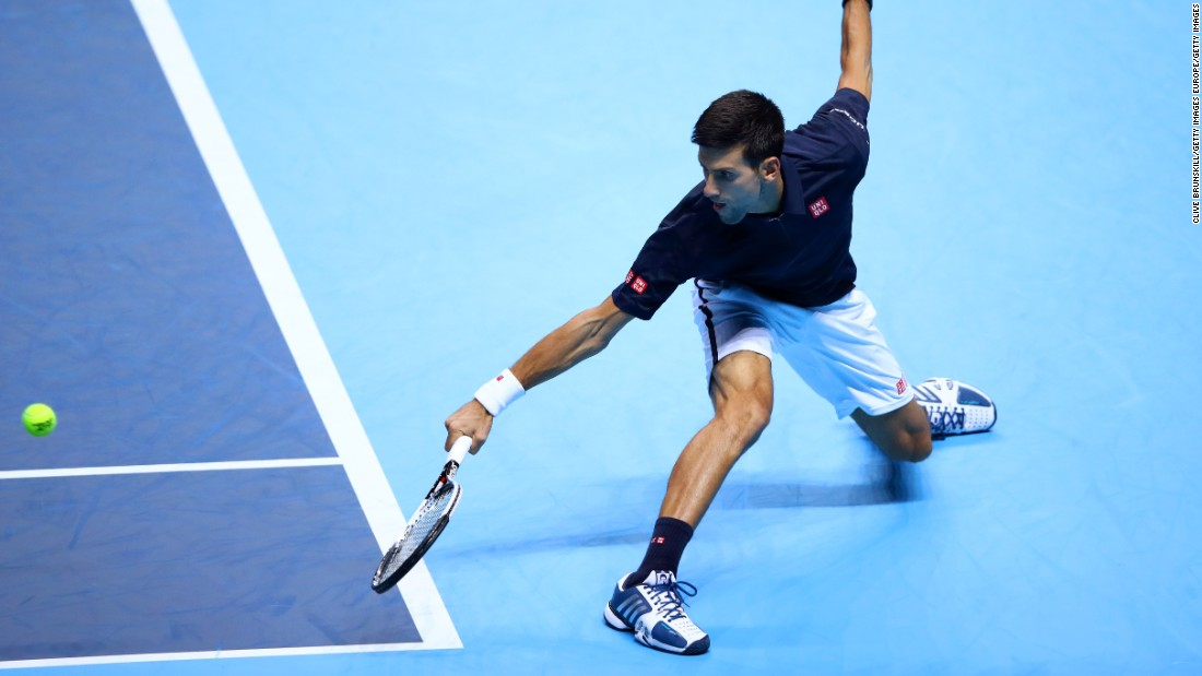 In typical fashion, Djokovic remained resilient. While Raonic hit eight aces in the first set, winning 88% of points on his first serve, it was Djokovic who held his nerve in the tie break -- taking the set 7-6 (8-6).