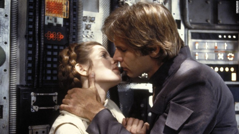 Carrie Fisher reveals affair with Harrison Ford