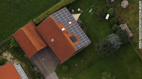 How much solar energy can your roof make? Just Google it