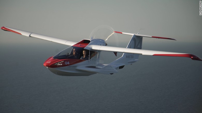 Icon A5 Flying With Roy Halladay's de...
