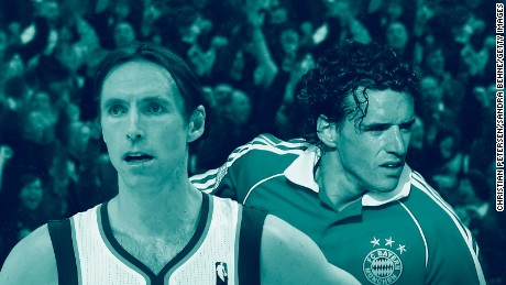 How Steve Nash and Owen Hargreaves fulfilled each other's dreams