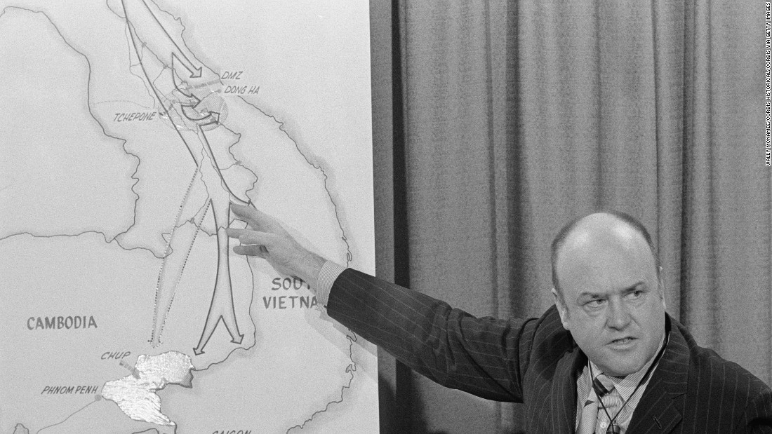 Draft-ending former Secretary of Defense Melvin Laird dies