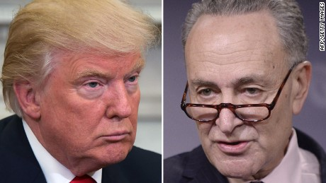 Schumer to request Trump redirect wall funding to address gun violence and white supremacy extremism