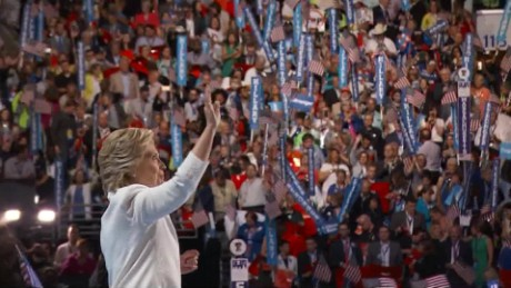 Jeff Zeleny: Hillary Clinton's moment of joy