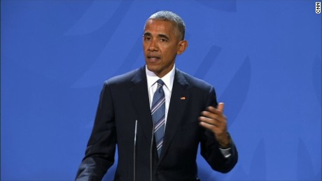 Obama: President is a serious job