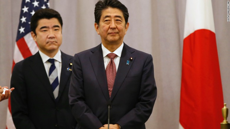 Japanese PM has 'great confidence' in Trump