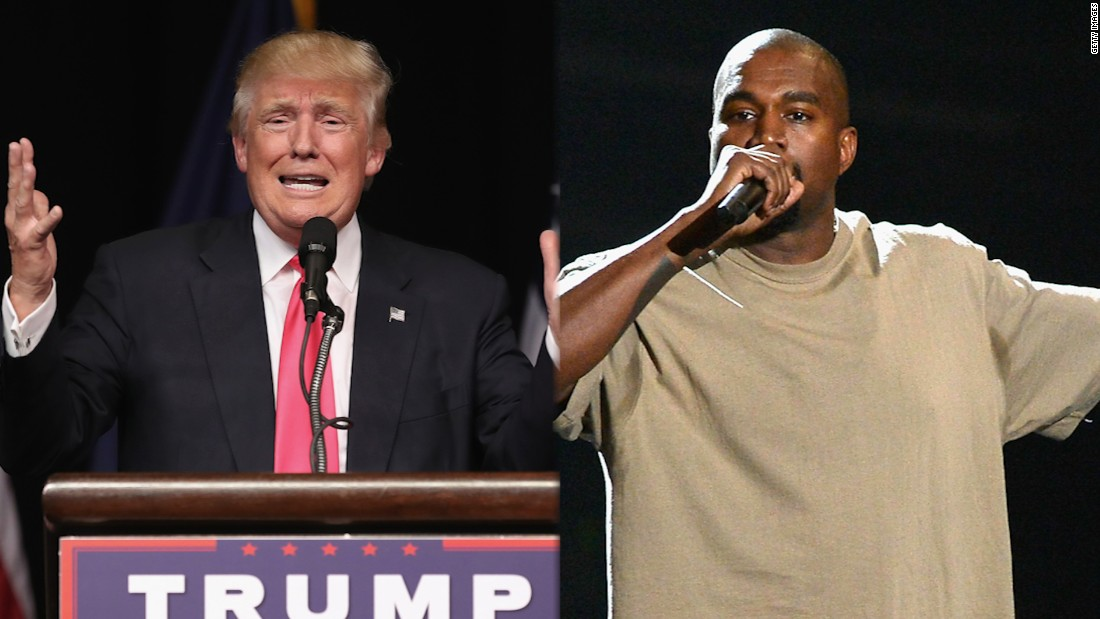 Kanye West: I didn't vote but if I did, 'I would have voted for Trump'