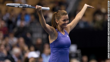 Can 'nice girl' Radwanska slam her rivals?