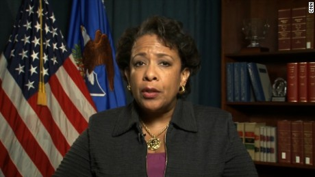 Lynch addresses increased hate crimes