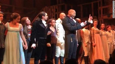 Trump: Pence 'harassed' by 'Hamilton' cast