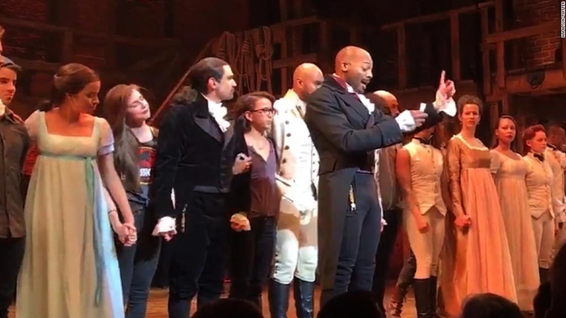 Hamilton': The latest feud Trump won't let go - CNNPolitics