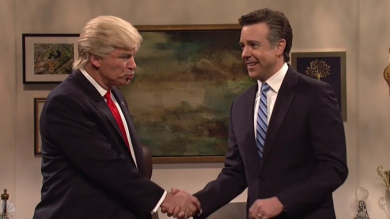 Alec Baldwin returns as Trump on 'SNL'