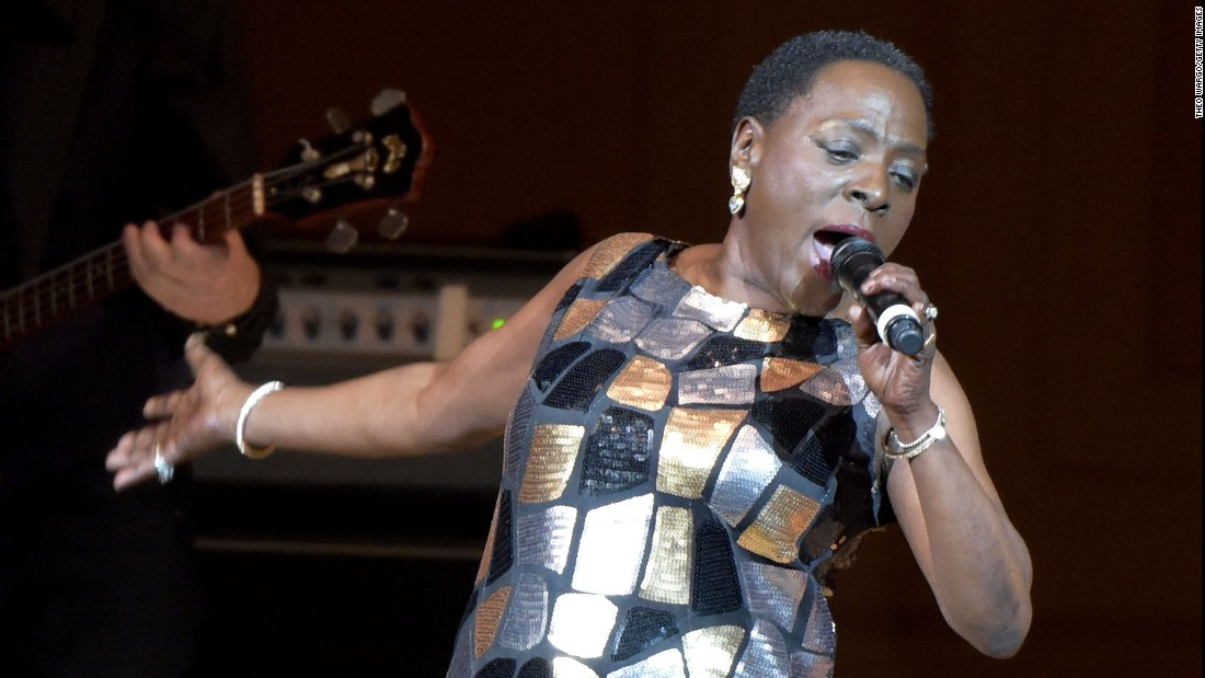 "<a href=""http://www.cnn.com/2016/11/18/entertainment/singer-sharon-jones-dead-at-60/"" target=""_blank"">Sharon Jones</a>, the powerful lead singer of the Dap-Kings, died November 18 after a battle with pancreatic cancer, manager Alex Kadvan told CNN. She was 60."